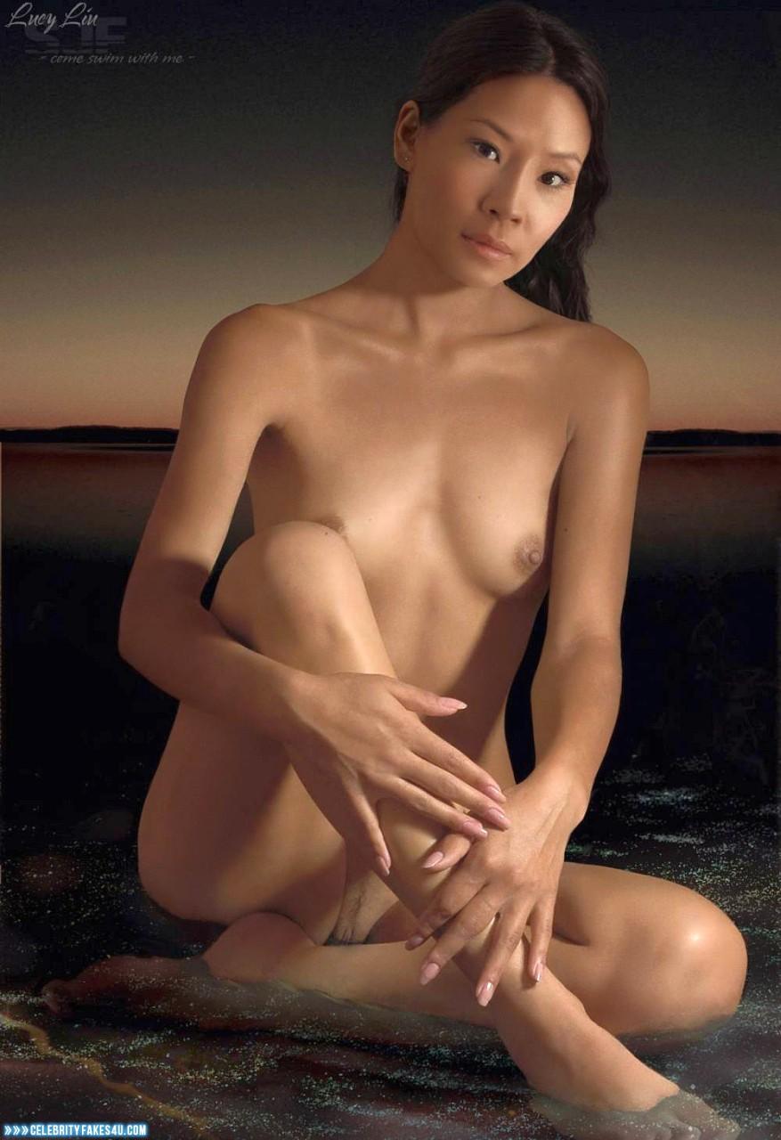 Lucy Liu Fake, Tits, Porn