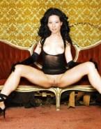 Lucy Liu Small Tits Vagina Legs Spread 001
