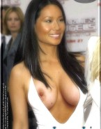 Lucy Liu Tits Red Carpet 001