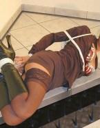 Lynda Carter Stockings Rope Play Bondage Nude 001