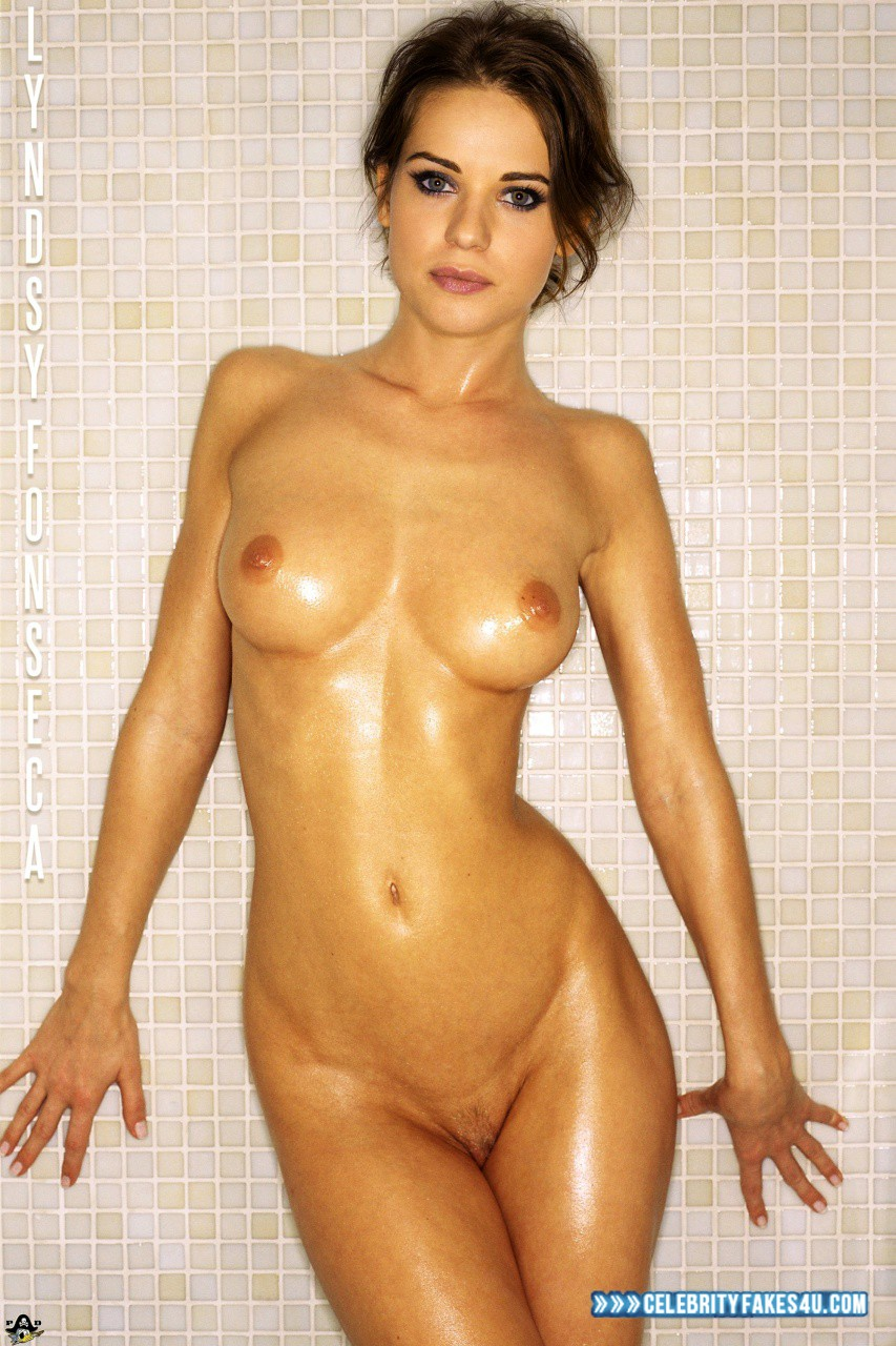Lyndsy Fonseca Fake, Bath / Shower, Naked Body, Nude, Tits, Wet, Porn