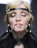 Madonna Cumshot Facial Bondage Naked 001