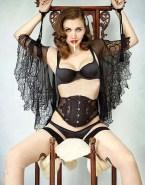 Maggie Gyllenhaal Lingerie Bondage Naked Fake 001