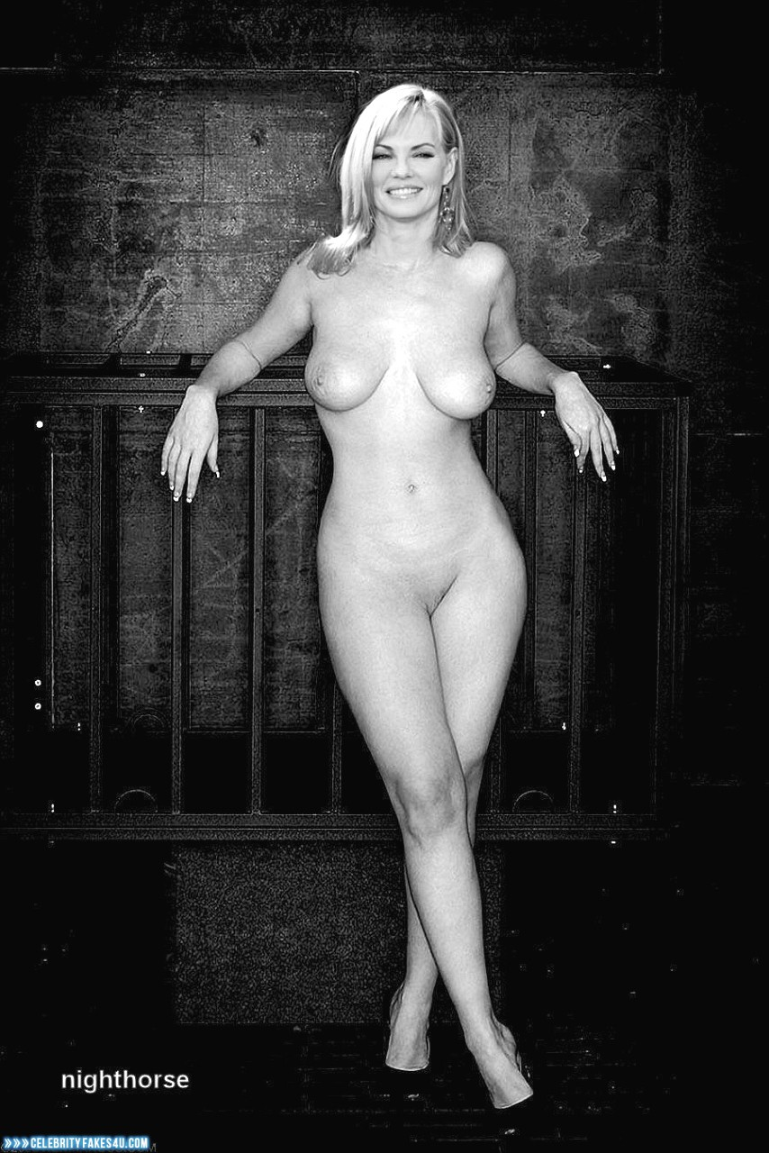Marg Helgenberger Fake, Completely Naked Body / Fully Nude, Sexy Legs, Tits, Porn