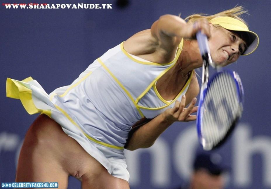 Tennisspielerin Nackt
