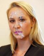 Marion Marechal Le Pen Blonde Facial Naked 001