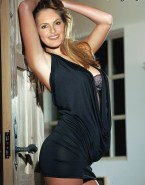 Mariska Hargitay Skirt Bra Naked 001
