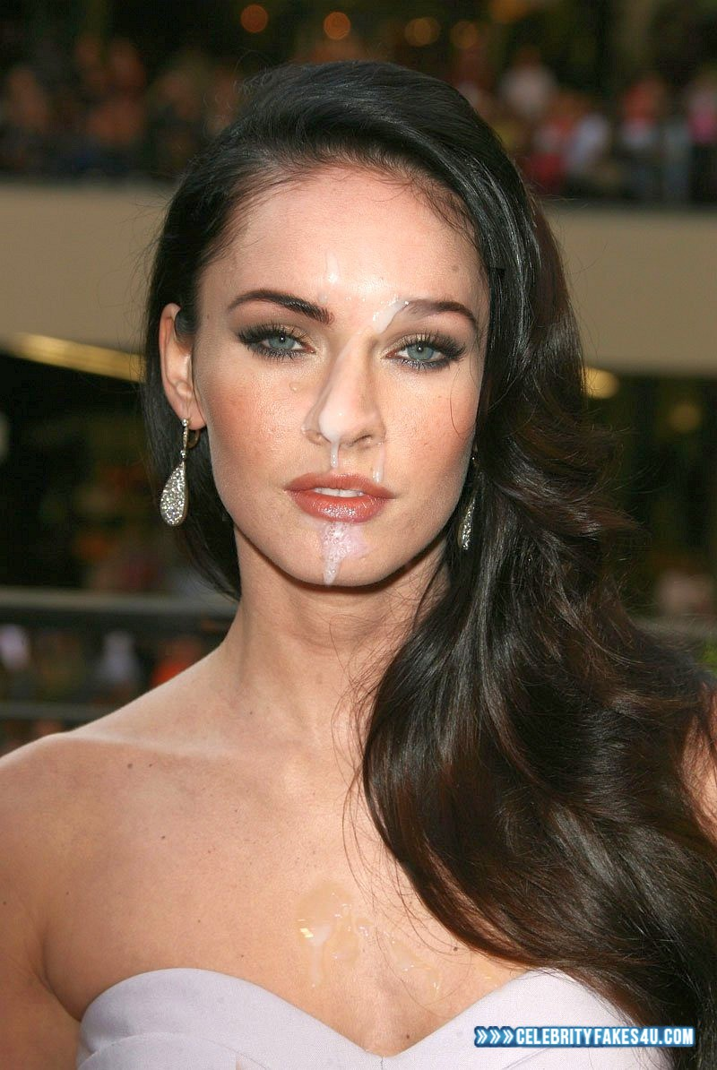 megan fox facial cum