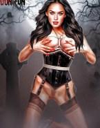 Megan Fox Toon Lingerie 001