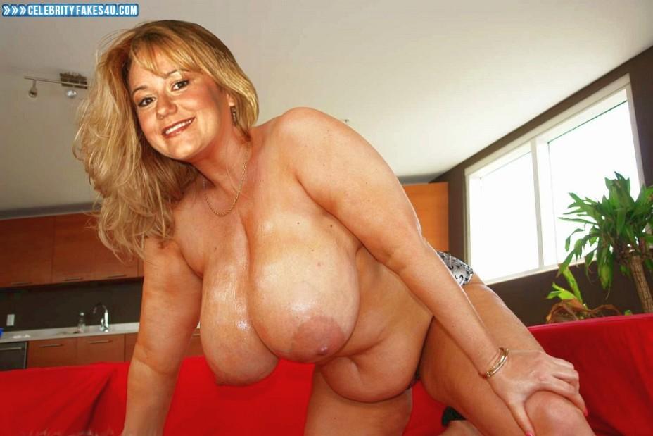Megyn Price Fake, Huge Tits, Tits, Wet, Porn