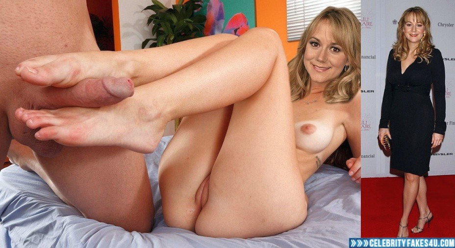Megyn Price Fake, Camel Toe, Footjob, Nude, Pussy, Sex, Tits, Porn