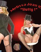 Melissa Joan Hart Stockings Legs Spread Pussy Nudes 001