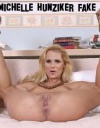 Michelle Hunziker Vagina Legs Spread Flexible Fakes 001