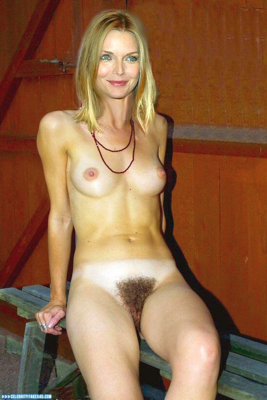 Michelle Pfeiffer Fake, Hairy Pussy, Sexy Flat Stomach, Tits, Porn