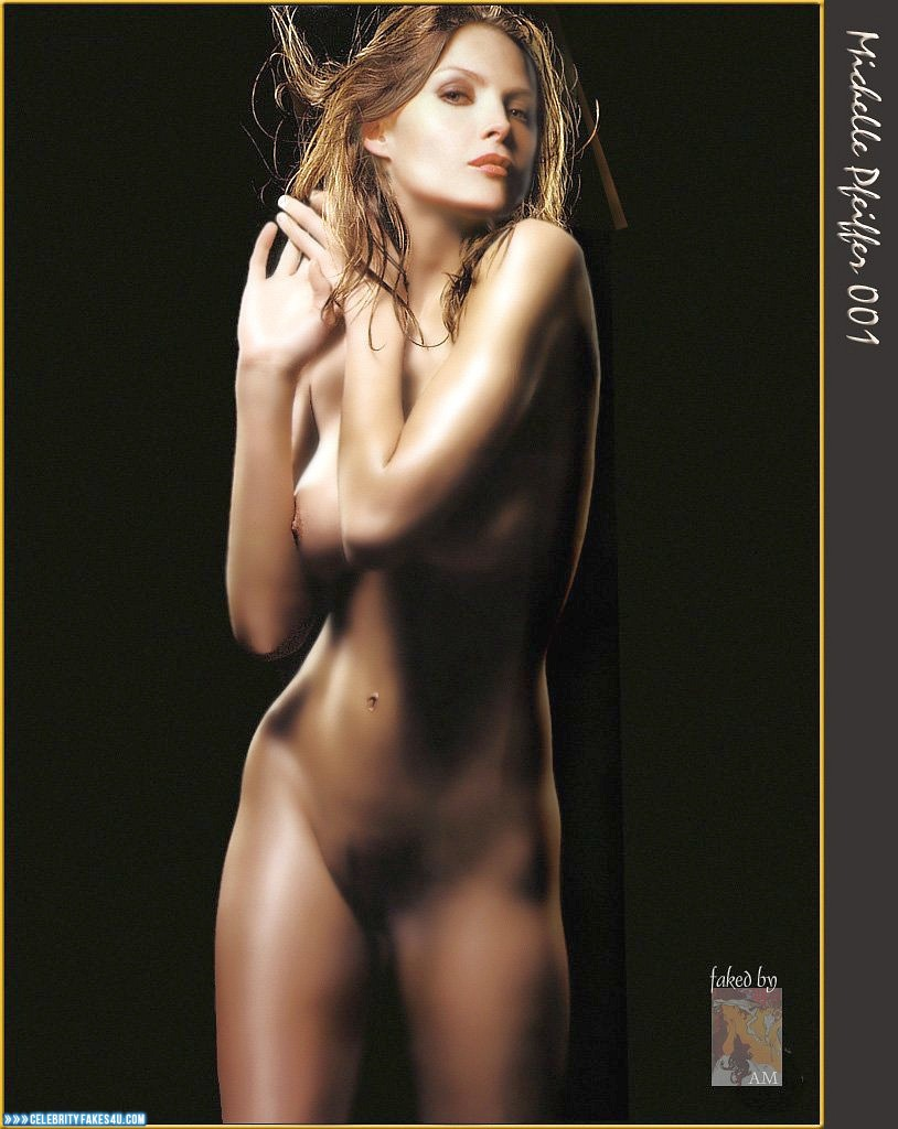 Michelle Pfeiffer Fake, Completely Naked Body / Fully Nude, Porn