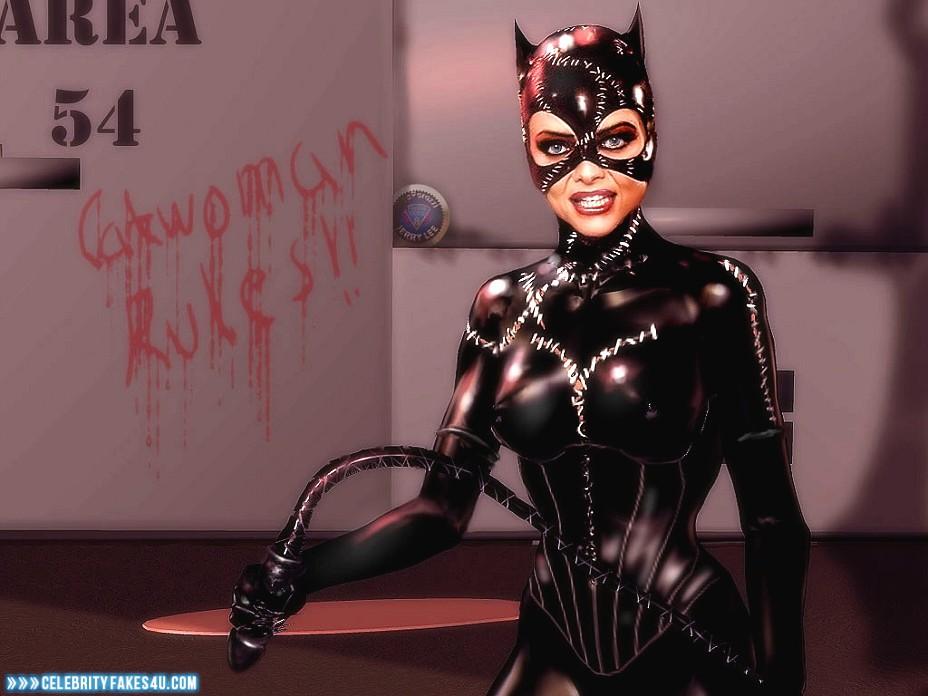 Michelle Pfeiffer Fake, Catwoman, Nipple Pokies, Porn