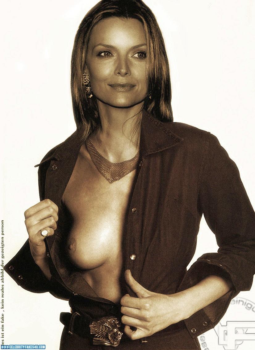 Michelle Pfeiffer Fake, Flashing Tits, Horny, Porn