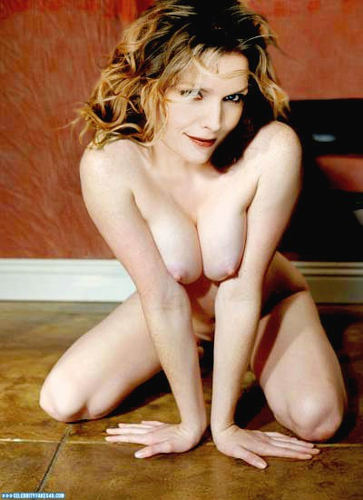 Michelle Pfeiffer Fake, Horny, Squeezing Breasts, Porn