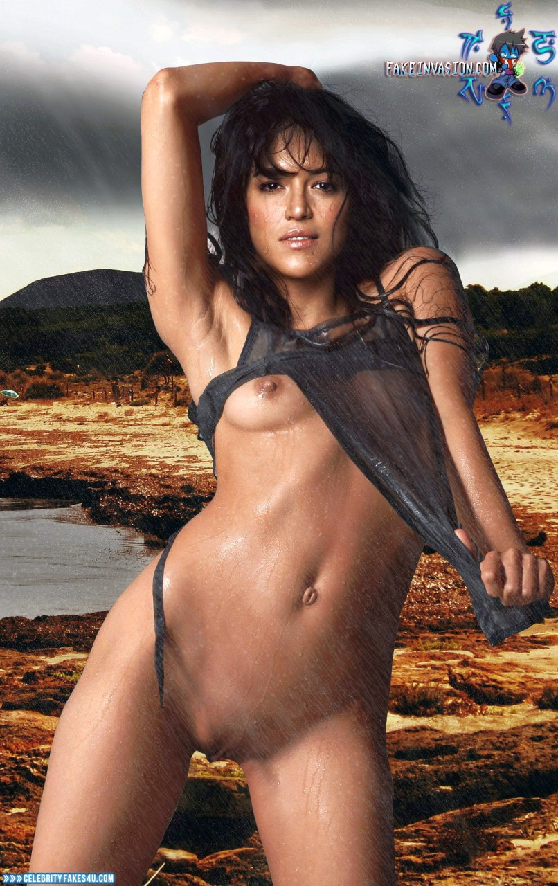 Boobs naked michelle rodriguez haunted