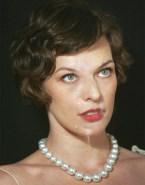 Milla Jovovich Facial Naked 001