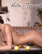 Milla Jovovich Naked Body Fakes 002