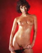 Milla Jovovich Panties Down Thong Nude 001