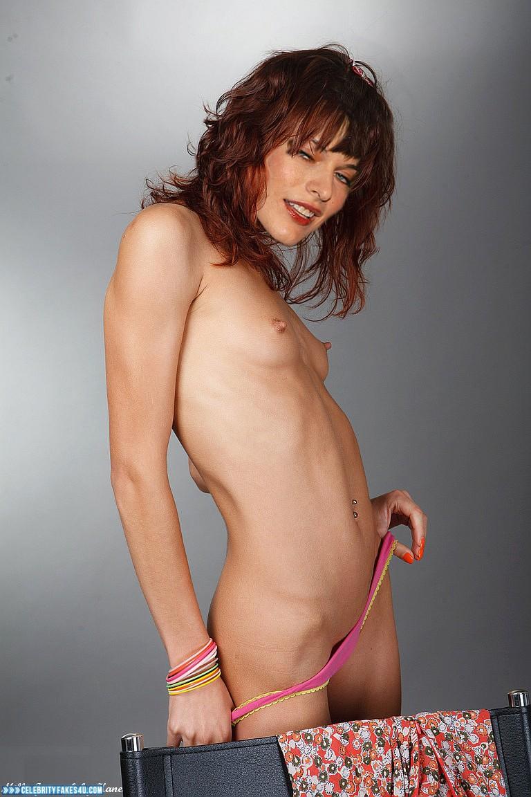 Milla Jovovich Fake, Small Tits, Porn