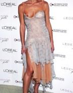 Milla Jovovich Wardrobe Malfunction Public 001