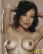Ming Na Wen Horny Topless Porn 001