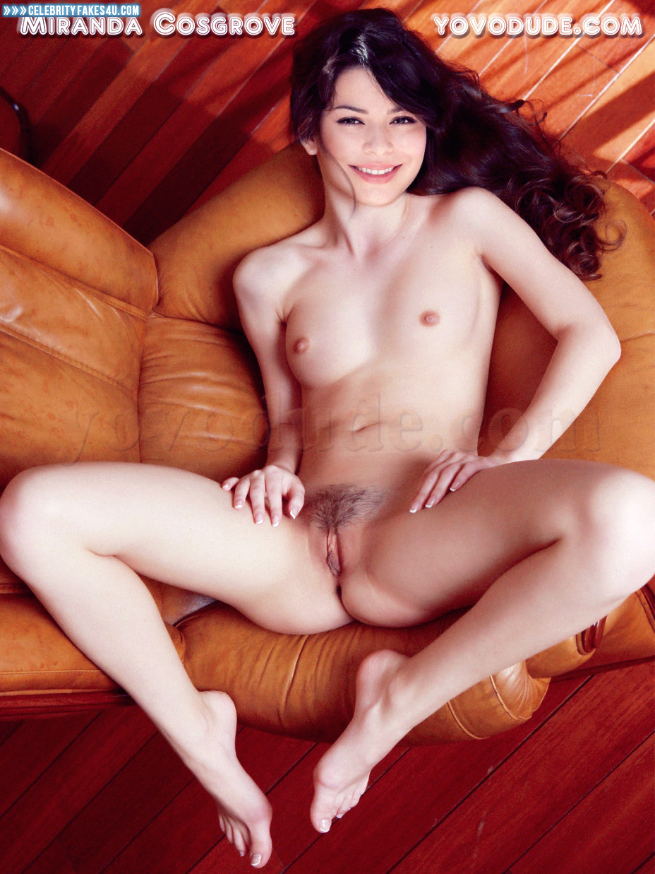 Miranda cosgrove nude pussy showing while legs wide spread