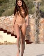 Miranda Kerr Beach Public Naked 001