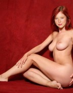Molly Quinn Exposed Breasts Redhead 001