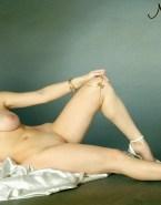 Molly Quinn Sexy Legs Exposed Boobs 001