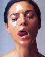 Monica Bellucci Cum Facial Licking Cumslut Fakes 001