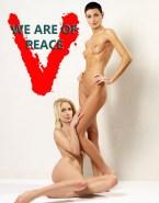 Morena Baccarin Lesbian Naked Body 002