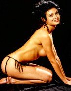 Morena Baccarin Naked Body Sideboob 001