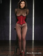 Morena Baccarin See Thru Lingerie 001