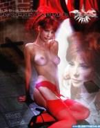 Mylene Farmer Great Tits Topless Fakes 001