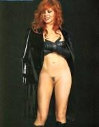 Mylene Farmer Without Underwear Camel Toe 001