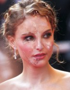 Natalie Portman Cumshot Facial Fake 002