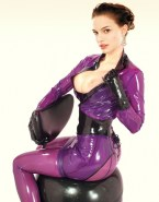 Natalie Portman Hot Outfit Latex Naked 001