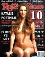 Natalie Portman Magazine Cover Nude 001