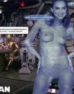 Natalie Portman Star Wars Naked Body Fake 002