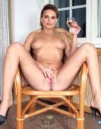 Natalie Portman Touching Herself Vagina Legs Spread Naked 001