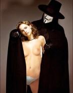 Natalie Portman V For Vendetta Panties Naked Fake 001