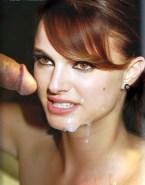 Natalie Portman Cum Facial Sex Fake 001