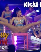 Nicki Minaj Public Stockings Fake 001