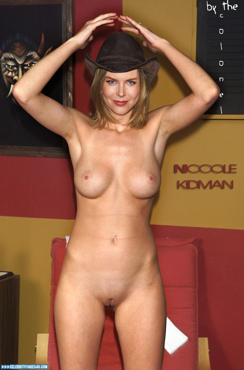 Nicole Kidman Fake, Camel Toe, Completely Naked Body / Fully Nude, Nude, Tits, Porn