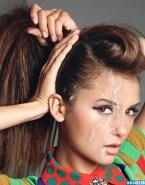 Nina Dobrev Horny Facial Naked 001