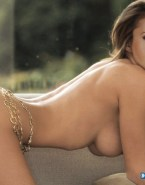 Nina Dobrev Sideboob Bending Over Nsfw 001